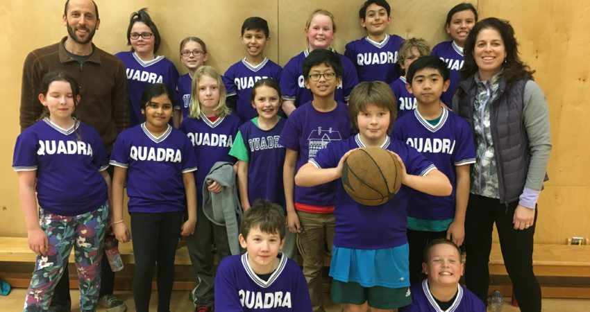 Quadra's Basketball Jamboree Team