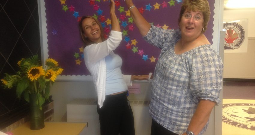 Welcome back from Mme Rolston and Mrs. Campbell