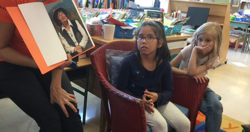 Kylie shares her great-grandma's story as a residential school survivor.