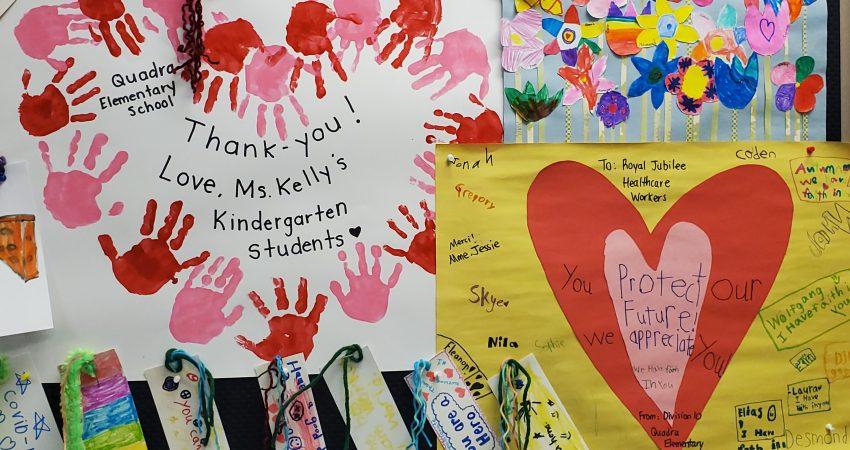 Kindness Ninjas Show Appreciation for the Jubilee Hospital Staff
